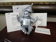 Marie Osmond Wizard Of Oz Tin Man Tiny Tots Box Certificate Necklace Hat Tag