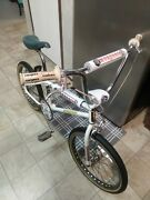 Old School Bmx Mongoose M1 Frame And Fork . All Californian Parts