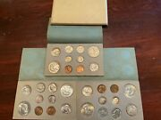 Rare Complete 1951 U.s. Double Mint Set With Toning 30 Coins Total P D And S