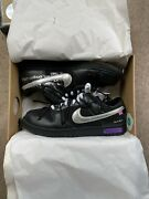 Brand New Nike Off White Dunk Lot 50 Of 50 Deadstock Size Uk11 Black/silver.