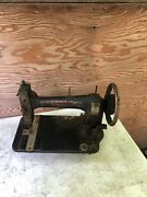 Antique White Family Rotary Treadle Sewing Machine Parts Repair Restore