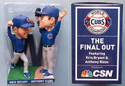 2017 Chicago Cubs Baseball - Kris Bryant Anthony Rizzo Final Out Bobblehead Tb