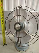 """Vintage Antique 16"""" Tall Blade Fan Westinghouse Unknown Model And Year 13 Wide"""
