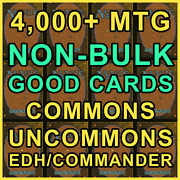 4k+ Non-bulk Good Cards Magic The Gathering Mtg Card Collection Common/uncommon