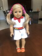 American Girl Retired Ivy Rainbow Romper - All Dolls Sold Separately.
