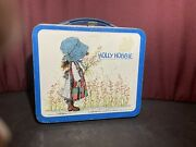 Vintage 1972 Holly Hobbie Aladdin Metal Lunch Box American Greetings Corp