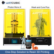 Anycubic Photon Mono X Lcd 4k 3d Printer/ Wash And Cure Plus /405nm Uv Resin Kit
