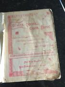 Vintage 1887 The White House Cookbook, By Mrs. Gillette, Usa 1894 2nd Edition