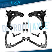2wd 8pc Front Upper And Lower Control Arms Kit For 1999-06 Silverado Sierra 1500