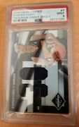 09 Limited Freshman Jumbo Jersey Stephen Curry Rc 13/99 Psa 9 Pop 1 None Higher