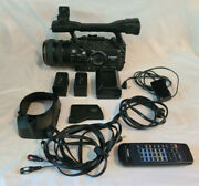 Canon Xha1s 3ccd Hdv 1080p Professional Video Camera Camcorder 20x Hd Video Zoom