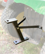 Trailer Hitch Lawn Mower Garden Tractor Cart Pulling Truck Tow Receiver Iron