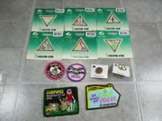 Girl Scout Brownie Try-it Patches Pins Fun Patches New 10 Patches 2 Pins