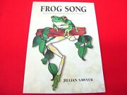 Frog Song Designs And Patterns Book Stained Glass Jillian Sawyer Crafts