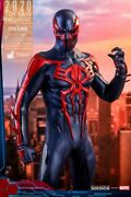 Hot Toys 2099 Black Suit Spiderman New