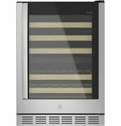 Ge Profile - 44-bottle Dual Zone Wine Center - Stainless Steel