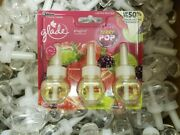 100 Glade Plugins Refills Scented Oil Berry Pop Refills Limited Edition Scent