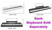 Digital Piano Keyboard W Semi Weighted Keys Speaker Split Layer Fx And Lesson Mode