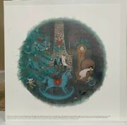P. Buckley Moss Christmas Dreams 2000 Signed Print 454/8500 Sold Out Sealedandnbsp