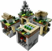 Lego Minecraft Micro World Andndash The Village 21105 - Complete Without Box