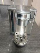 Breville Keurig Stainless Steel Single Pod K-cup Coffee Maker Bkc700xl Pre-owned