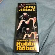 Robby The Robot Forbidden Planet With Chrome Metalized Parts Plastic Kit W/ Box
