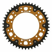 New Supersprox Stealth Sprocket 46t For Kawasaki Kx450f 06-17 Gold