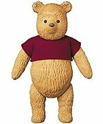 Vcd Vinyl Collectible Dolls Pooh No.317 Thirteenth High About 420mm Painted