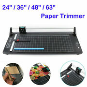 24/ 36/ 48/63 Manual Rotary Paper Trimmer Sharp Precision Photo Paper Cutter