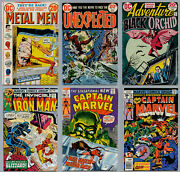 Marvel And Dc A Lot Of 72 Bronze Age Comics