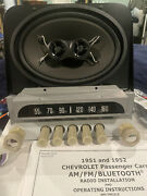 1951-52 Chevrolet Am Fm Stereo Bluetoothandreg Radio And Speakers. No Wait I Have It