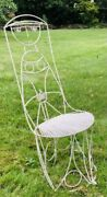 Vintage 1950andrsquos John Risely Enameled Steel Figural Chair