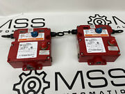 Honeywell 2cpsa2a1b Safety Cable Pull Switch Rope E-stops Lot Of 2