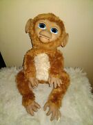 2012 Hasbro Furreal Friends 16 Cuddles My Giggly Monkey Interactive Toy Works