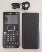 Texas Instruments Ti-nspire Cx Cas Graphing Calculator W/ Cable And Unique Cover