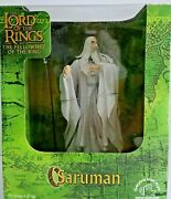 Hammer Horror-lord Of The Rings-saruman-with Staff-applause-christopher Lee-mib