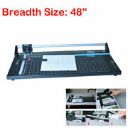 48and039and039 1220mm Sharp Photo Paper Cutter Manual Precision Rotary Paper Film Trimmer