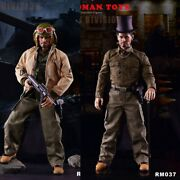 Redman Toys Rm037 1/6 Scale Male Solider Fury Tank Division Full Set Action Figu