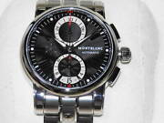 Chronograph M29435 Automatic Steel Black Menand039s Watch 44mm