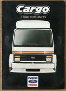 Iveco Ford Cargo Tractor Units Commercial Sales Brochure 1987 C4b/87