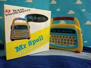 Toy Story Mr Spell Replica And Box