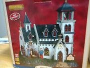 Lemax Christmas Village Church Of The Nativity Animated Musical Free Shipping