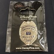 Rare Walt Disney World 1971 Security Officer Badge Collectable Trading 1.5 Pin