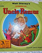 Walt Disney Stories Of Uncle Remus Record And A Picture Book St 3907
