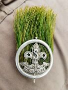 Boy Scout Hat And Hat Badge Plume Scoutmaster Scouts