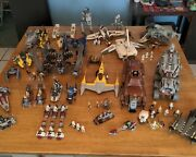 Huge Lego Star Wars Lot - 25 Vintage Sets W/ 65 Minifigs And Instruction Manuals