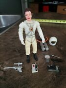 1970 Marx Toy Astronaut With Accessories, Colonel Hap Hazard Lot 1 , Moon Base