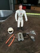 1970 Marx Toy Astronaut With Accessories, Colonel Hap Hazard Lot 2 , Moon Base
