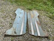 1942 1946 1947 1948 1949 Buick Fender Skirts - Special Century Limited Pair