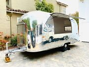 1962 Airstream Globetrotter Renovated With Concession Window